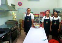 Coconut Restaurant Kitchen