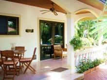 Coconut Palms Lovely Terrace